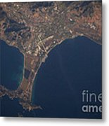 Giens Peninsula, France Metal Print