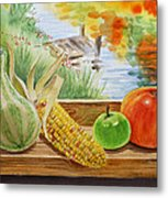 Gifts From Fall Metal Print