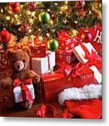Gifts Under The Tree For Christmas Metal Print