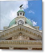 Giles County Courthouse Details Metal Print