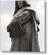 Giordano Bruno, Italian Philosopher Metal Print by Sheila Terry