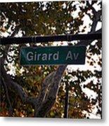 Girard Avenue In Philadelphia Metal Print