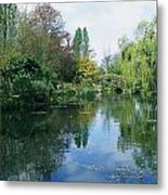 Giverny Gardens, Normandy Region Metal Print