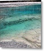 Glacial Pool Inn South New Zealand Metal Print