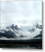 Glacier Mountain Metal Print by Mindy Newman