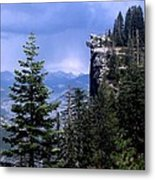 Glacier Point From Four Mile Trail Metal Print