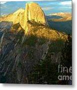 Glacier Point Tree Metal Print
