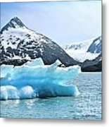 Glacier Remnants Metal Print