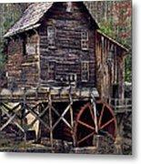Glade Creek Grist Mill Series II Metal Print