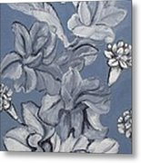 Gladiolas And Carnations Metal Print