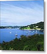 Glanmore Lake, Beara Peninsula, Co Metal Print