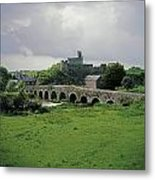 Glanworth Bridge, Funshion River, Co Metal Print