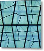 Glass And Shadows Metal Print