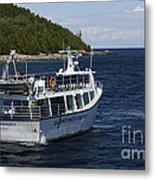 Glass Bottom Boat Metal Print