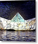 Glass Bottomed Boat Metal Print