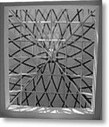 Glass Celing Metal Print
