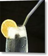 Glass Of Water II Metal Print