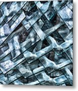 Glass Scales Metal Print