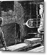 Glassworker, 19th Century Metal Print