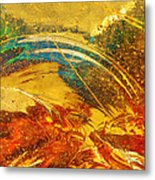 Glassworks Series-multicolor I Metal Print