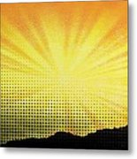 Gleam Metal Print