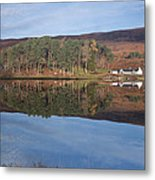 Glen Affric Reflections Metal Print