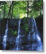 Glenariff Waterfall, Co Antrim, Ireland Metal Print