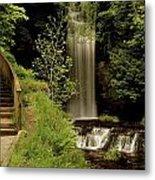 Glencar Waterfall, County Leitrim Metal Print