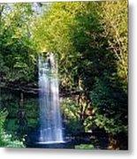 Glencar Waterfall, County Sligo Metal Print
