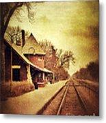 Glencoe Train Station Metal Print