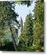 Glendalaugh Round Tower 11 Metal Print