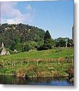 Glendalough, Co Wicklow, Ireland Saint Metal Print