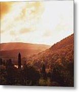 Glendalough, County Wicklow, Ireland Metal Print
