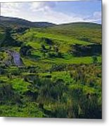Glenelly Valley, Sperrin Mountains, Co Metal Print