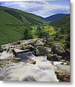 Glenmacnass, County Wicklow, Ireland Metal Print