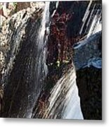 Glenn Alpine Falls Metal Print