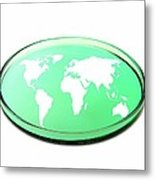 Global Research, Conceptual Image Metal Print