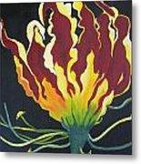 Gloriosa Lily Metal Print