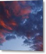 Glorious Clouds Metal Print