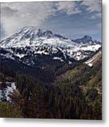 Glorious Mount Rainier Metal Print