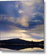 Glorious Skies Metal Print