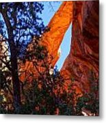 Glowing Arch Metal Print by Scott McGuire