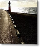 Go Forward Metal Print