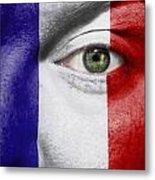 Go France Metal Print by Semmick Photo