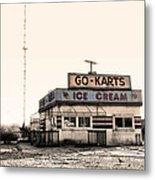 Go-karts - Wildwood New Jersey Metal Print
