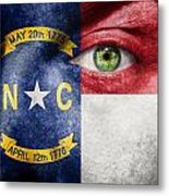Go North Carolina Metal Print