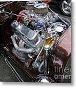 1938 Ford Roadster Go Power Metal Print