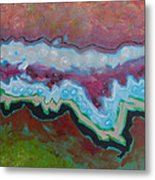 Go With The Flow 2 Metal Print