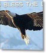 God Bless The Usa 2 Metal Print