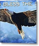 God Bless The Usa Metal Print